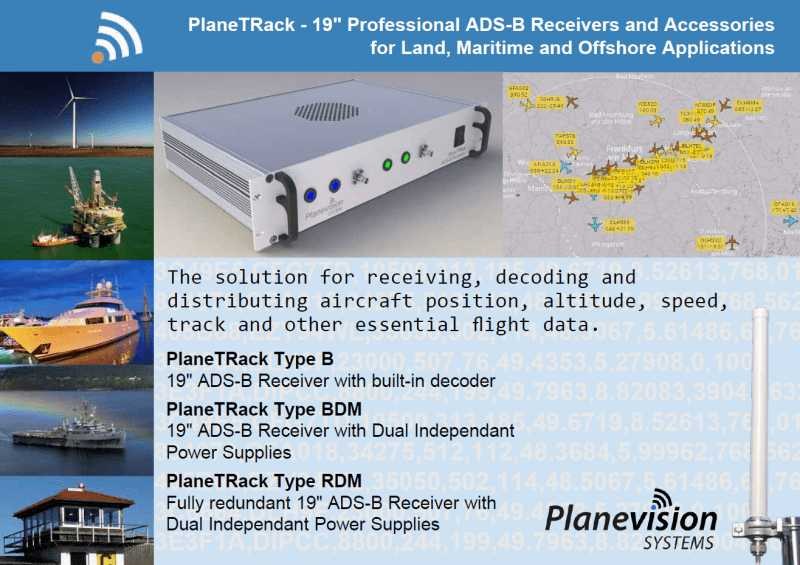 ADS-B receiver | PlaneTRack | Flyer