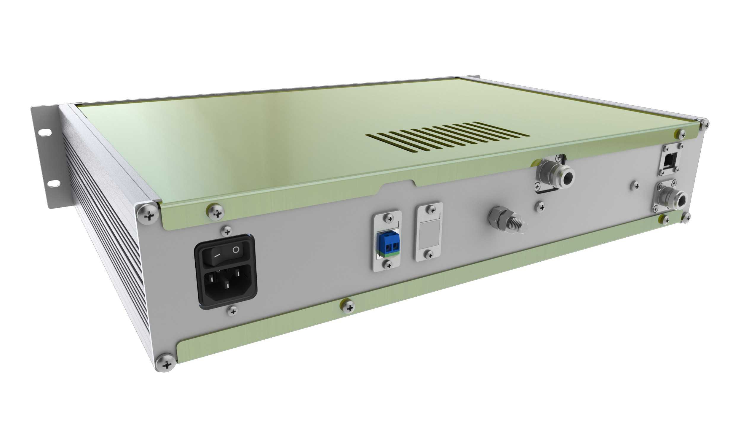 ADS-B System - 19 inch rack - rear view